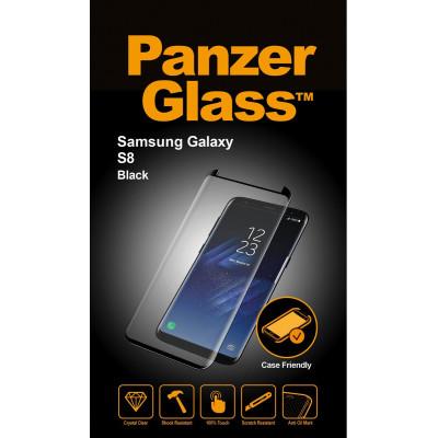 PanzerGlass E2E f. Samsung Galaxy S8, Black