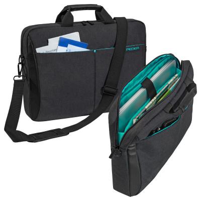 """PEDEA Notebooktasche """"Lifestyle"""" 39,6cm (15,6""""), Schwarz"""
