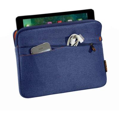 PEDEA Tablettasche bis 32,8 cm (12,9) mit Zubehörfach, blau