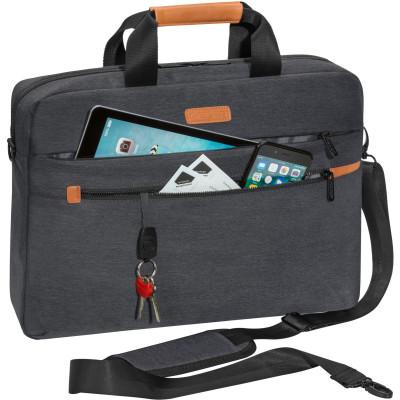 "PEDEA Notebooktasche ""ELEGANCE"" Pro 15,6"" (39,6cm), grau"