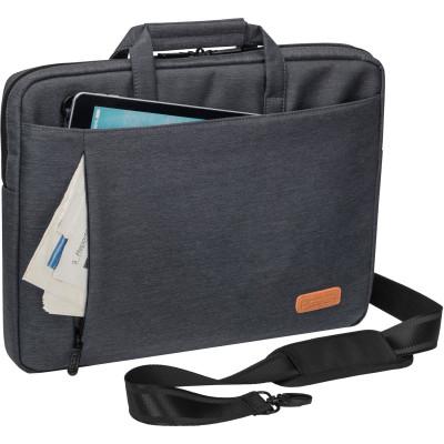 "PEDEA Notebooktasche ""ELEGANCE"" 15,6"" (39,6cm), grau"