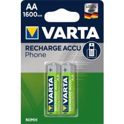 VARTA RECHARGE ACCU Phone AA 1600mAh Blister 2