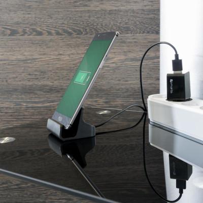 4smarts USB-C Ladestation VoltDock 10W, Grau