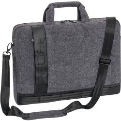 """PEDEA Notebooktasche """"Fancy"""" 39,6cm (15,6""""), grau"""