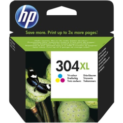 HP Tintenpatrone Nr. 304XL Multipack (C/M/Y) (ca. 300...