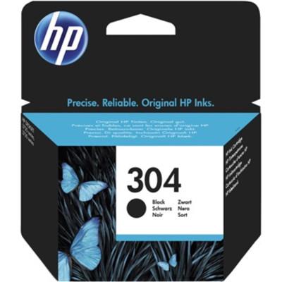 HP Tintenpatrone Nr. 304 schwarz (ca. 120 Seiten)