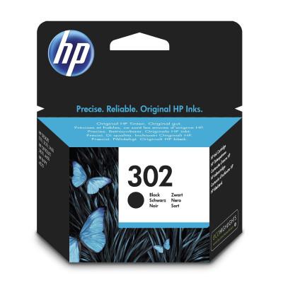 HP Tintenpatrone Nr. 302 F6U66AE Schwarz (ca. 190 Seiten)