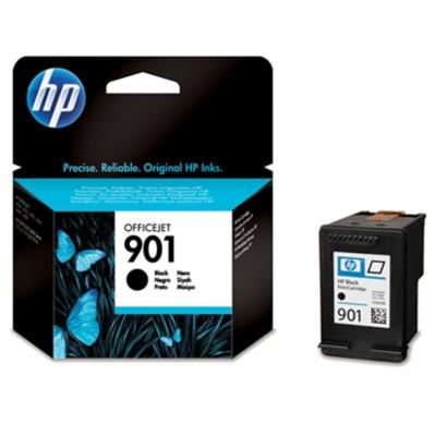 HP Tintenpatrone Nr. 901 CC653AE Schwarz (ca. 200 Seiten)