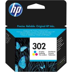 HP Tintenpatrone Nr. 302 F6U65AE 3-farbig (ca. 190 Seiten)