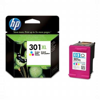 HP Tintenpatrone Nr. 301XL CH564EE dreifarbig (ca. 330...