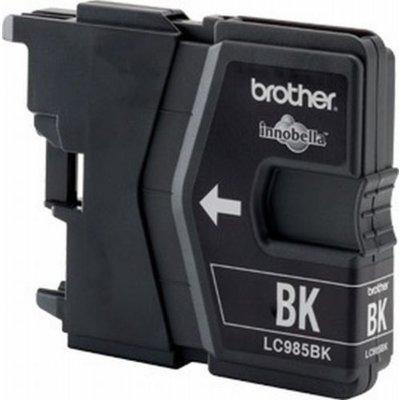 Brother Tintenpatrone LC-985BK Schwarz (ca. 300 Seiten)
