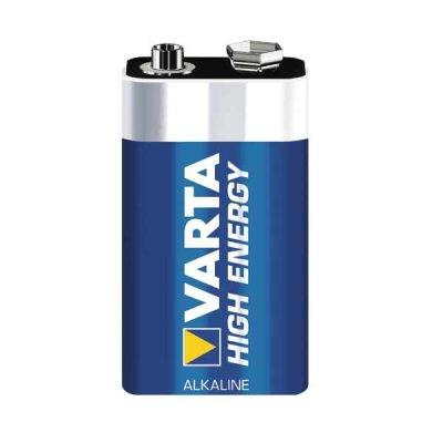 VARTA HIGH ENERGY Batterie E-Block (9V-Block) ohne Blister