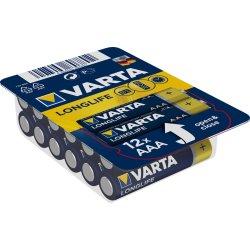 VARTA LONGLIFE Batterie AAA LR03 Micro 12er Big Box