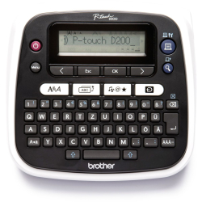 Brother P-touch D200BW Desktop Beschriftungsgerät