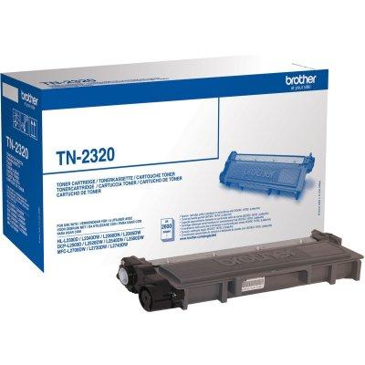Brother Toner TN-2320 Schwarz (ca. 2600 Seiten)