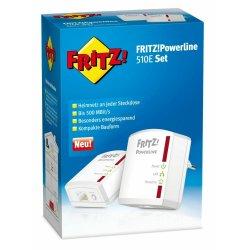 AVM FRITZ!Powerline 510E Set 500 MBit 2er KIT (1x LAN)