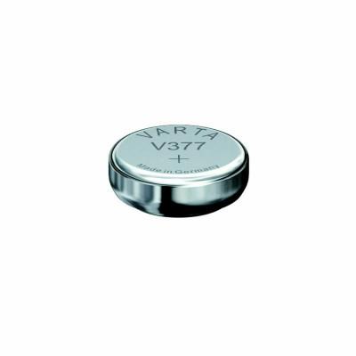 VARTA Knopfzellenbatterie Electronics V377 (SR66) Silber