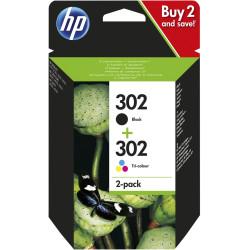 HP Tintenpatrone Nr. 302 Multipack (BK/C/M/Y)