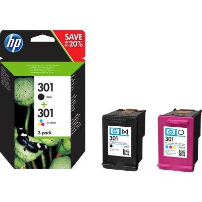 HP Tintenpatrone Nr. 301 Multipack (BK/C/M/Y)