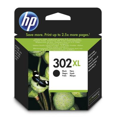 HP Tintenpatrone Nr. 302XL F6U68AE Schwarz (ca. 480 Seiten)