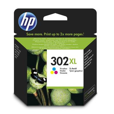 HP Tintenpatrone Nr. 302XL F6U67AE 3-farbig (ca. 480 Seiten)
