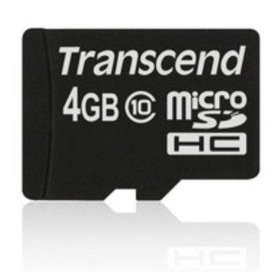 Transcend 4GB microSDHC Class 10