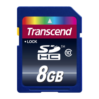 Transcend 8GB SDHC Class 10
