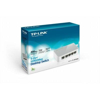 TP-Link TL-SF1005D 5-Port 10/100MBit Desktop Switch