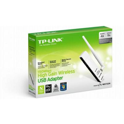 TP-Link TL-WN722N N150 WLAN High Gain USB Stick (150 MBit/s)