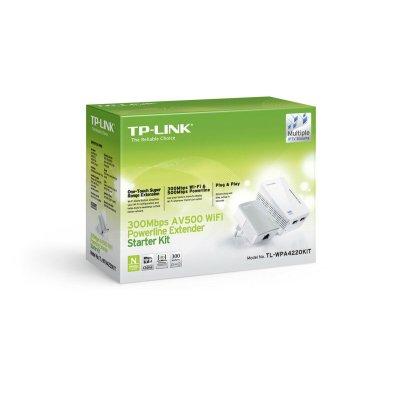 TP-Link TL-WPA4220 KIT AV600 Powerline WLAN 2er KIT (2x LAN)