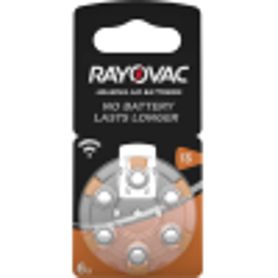 Rayovac Hörgerätebatterie 13 (PR48) 6er Blister