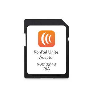 """Konftel Unite Adapter / SD Card """"OneTouch"""" Conferencing"""