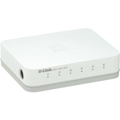 D-Link GO-SW-5G 5-Port Gigabit Easy Desktop Switch