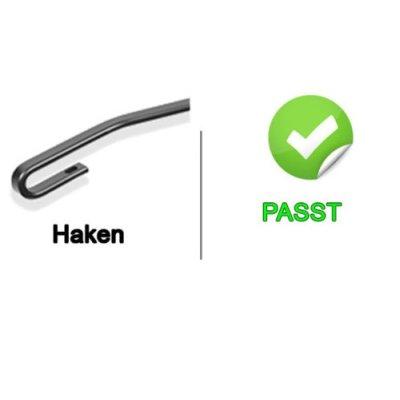 Scheibenwischer Set Satz Flachbalken für Ford Focus 1. Generation - 1998-2004