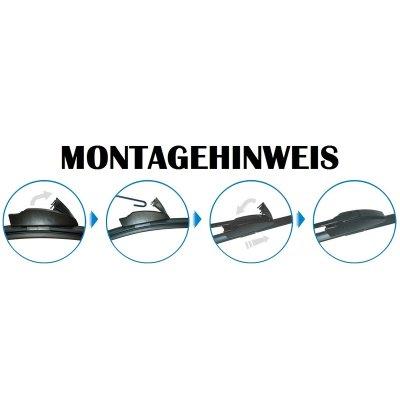 Scheibenwischer Flachbalken für C-Klasse W201 W202...