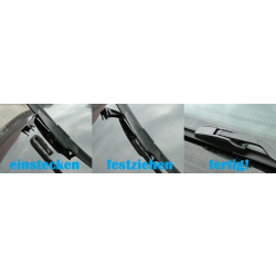 Scheibenwischer Flachbalken für C-Klasse W201 W202 E-Klasse W124 W210 CLK W208  SL R129