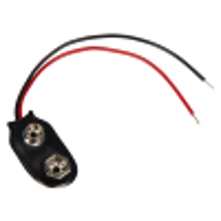 Batterieanschluss McPower in i-Form für 9V-Blöcke