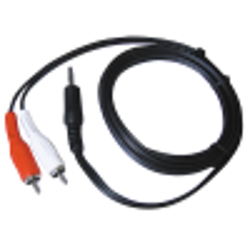 3,5mm-Klinke auf Cinch-Adapterkabel HOLLYWOOD, 1,5m