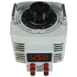 Ringkern-Stelltrafo McPower V-4000 LED, 0-250 V, 4 A, 1.000 W, NICHT galvanisch getrennt