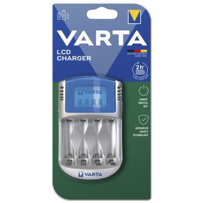 Akku-Ladegerät VARTA Power Play LCD Charger mit USB...
