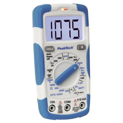 Digital-Handmultimeter PeakTech 1075, 3,5-stellig