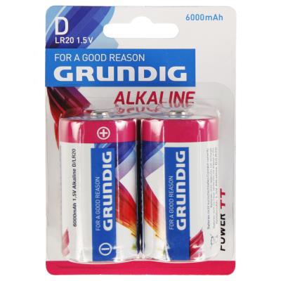 Mono-Batterie GRUNDIG Alkaline, 1,5V, Typ D/LR20,...