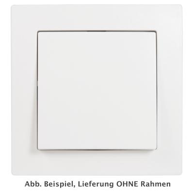 Kreuzschalter McPower Flair, 250V~/10A, UP, weiß