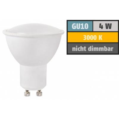 LED-Strahler GU10, 4W, 350 lm, warmweiß, 38°...