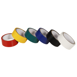 Isolierband, 6er-Pack, je 19mm breit, je 2,5m