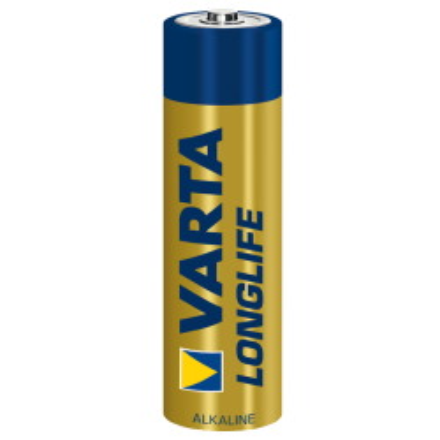 Mignon-Batterie VARTA LONGLIFE Alkaline, 1,5 V, Typ AA,...