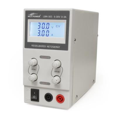 Labornetzgerät McPower LBN-303, 0-30 V, 0-3 A...