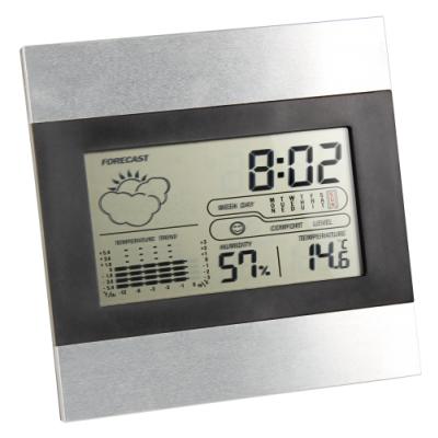 LCD Uhr Wetterstation