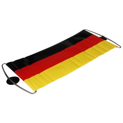 Deutschland-Banner mit Saugnäpfen