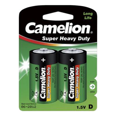 Mono-Batterie CAMELION Super Heavy Duty 1,5 V, Typ D,...